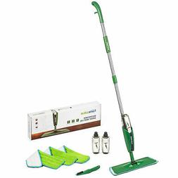 Homevative Microfiber Spray Mop Kit w/ 3 pads, 2 bottles, Pr