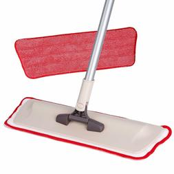 Microfiber Mop  + 1 Reusable Mop Pad Included, Wet/Dry Dust