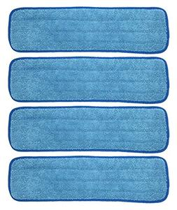 Xanitize 18 inch Microfiber Replacement Mop Pad, Wet & Dry H