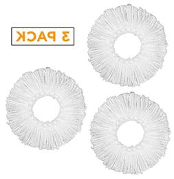 Arevo Microfiber Spin Mop Head Replacements, 360 Spinning Mo