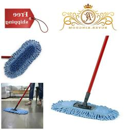 Microfiber Sweeper Dust Mop Dual Action Home Kitchen Floor C