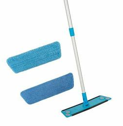 Simplee Cleen Microfiber Swivel Household Mop Kit with Two P