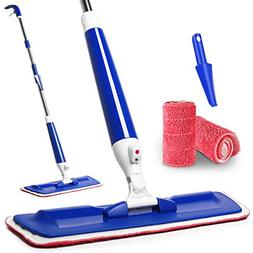 Aicehome Spray Mop for Floor Cleaning with Integrated Spray