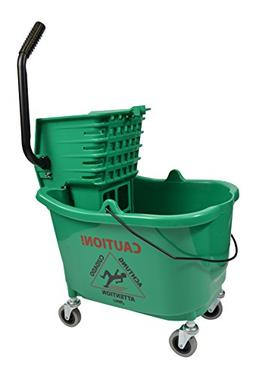 Janico Inc Mop Bucket Side Press Wringer Combo, 35 Quart 8.5