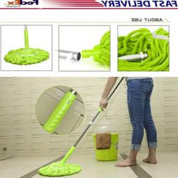 Myonly Hand Free Easy Wring Mops Microfiber Floor Mop Kitche