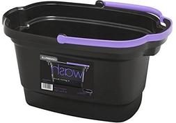 Casabella Neon 4 Gallon Rectangular Bucket New