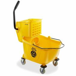 NEW - Dryser Commercial Mop Bucket with Side Press Wringer,