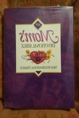 New Moms Devotional Bible NIV Daily Devotional 1996 Sealed M