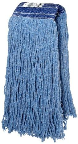 Non-Launderable Cotton/Synthetic Cut-End Wet Mop Heads, Ctn/