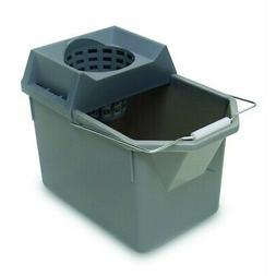 Rubbermaid Commercial Pail and Mop Strainer Combo, 15 Quart,