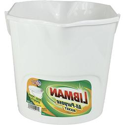 Libman Plastic All Purpose Bucket, 3 gallon