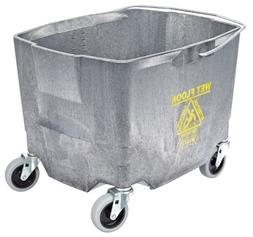 "Impact 2635-3G Polyethylene Mop Bucket with 3"" Casters, 26-3"