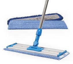 Professional Microfiber Dust Wet Mop Pad Stainless Handle Fr