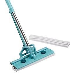 Finether PVA Sponge Mop Single-Roller Stainless Steel Absorb
