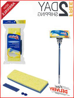 QUICKIE Automatic Sponge Mop Refill Pack Replacement Kit Mop