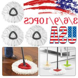 Replacement Heads Easy Cleaning Mopping Wring Refill Mop for