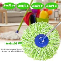 Replacement Microfiber Mop Head Refill For Spin Mop 360° LO