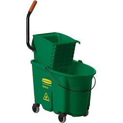 Rubbemaid 7588-88 Wavebrake 35-qt. Bucket & Side Press Wring