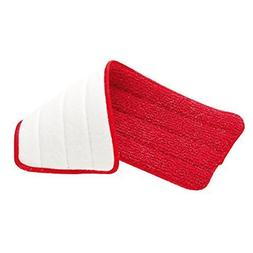 """Rubbermaid - Reveal Mop Microfiber Cleaning Pad, Red, 15"""" Wi"""