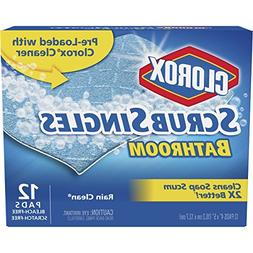 Clorox Scrubsingles, Bathroom-Rain Clean-12 Count