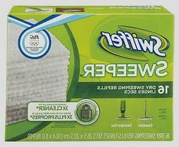 Swiffer Dry Sweeping Cloths, Unscented, 16 cloths