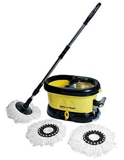 Mop-n-Spin System - Spin Mop with Stainless Steel Basket - D