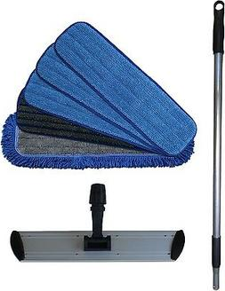 "Ultimate 18"" Microfiber Mop System - Handle, Frame and 3 Typ"