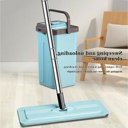 Upgraded Stainless Steel Microfiber 360 Rotating Mop And Buc