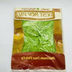 Vintage Household Dust Mop Pad Green Mitt Style Hand Duster