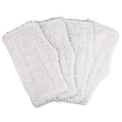 4 Pack Washable Cleaning Pads for Shark Steam & Spray Mop SK