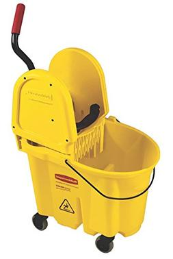 Rubbermaid Commercial WaveBrake Mop Bucket with Down Press W