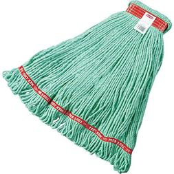 Medium Web Foot Wet Mop Head in Green