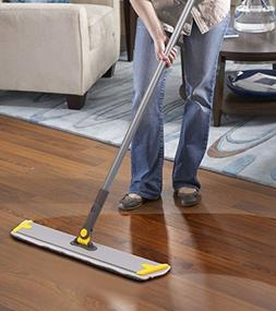 MOP For Wood Floor,3 Wet&Dry Reusable Refill Microfiber Dust