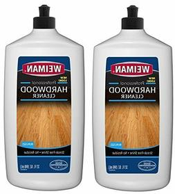 Weiman Hardwood Floor Cleaner  32 Ounce - Non Toxic Wood Fin